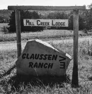 Mill Creek Lodge sign